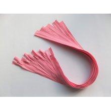 Fermoare invizibile 50 cm roz inchis, cod137