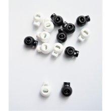 Opritori plastic snur (sferic) negru - 20buc