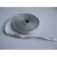 Panglica argintie 15 mm