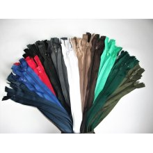 Set color fermoare detasabile #5 nylon 50,60,70,75,80,90