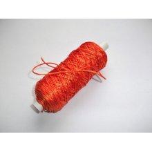 Snur Zorela 1mm - portocaliu