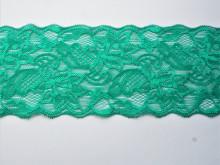 Dantela elastica verde 8cm, cod300