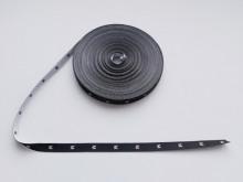 Etichete tesute 1000 buc - Marimea M (fond negru)