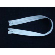 Fermoare albe lenjerie #3 - 50 cm alb