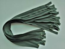 Fermoare detasabile #5 nylon 50,60,75, 80, 90 verde inchis
