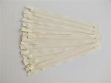 Fermoare fusta #3 - 20 cm ivoire