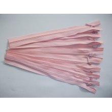 Fermoare invizibile 20 cm roz