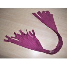 Fermoare invizibile 50 cm rosu violet, cod173