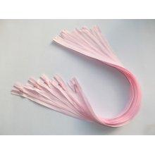 Fermoare invizibile 50 cm roz deschis, cod512