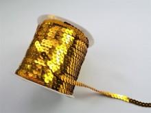 Paiete aurii la rola, 6mm x 100yds