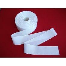 Panglica pentru promotii 40 mm alb - 50 m