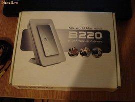 Router/Modem 3G Flybox Huawei B220 Decodat Compatibil Orange Cosmote Digi Vodafone Zapp