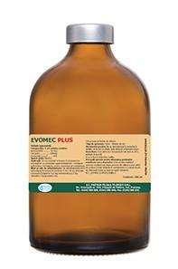 Evomec Plus flacon de 500 ml=bottle of 0.5 kg pt deparazitare injectabila