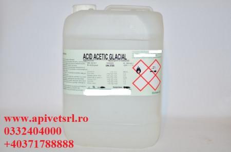 Acid Acetic Glacial (99%) flacon de 5 litri 130 RON