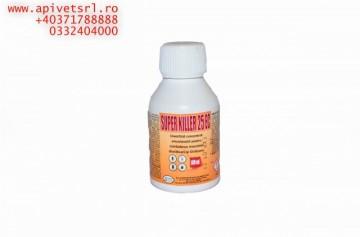Super killer - insecticid cu eficienta demonstrata pe diverse spatii si insecte- imbuteliere de 100 ml
