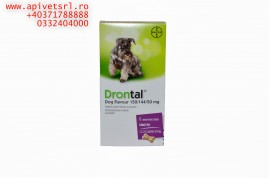 Drontal- Cat, Drontal Puppy sau Drontal dog Flavor pt deparazitare