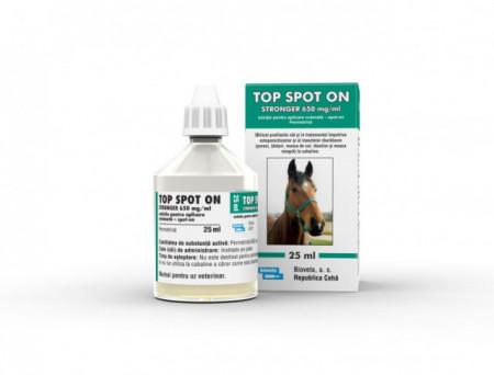 TOP spot ON Strongher 650 mg/ml spot on flacon de 25 ml