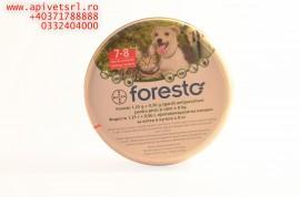 Foresto Zgarda pisici/catei cu greutatea sub 8 kg cu efect de peste 7 luni