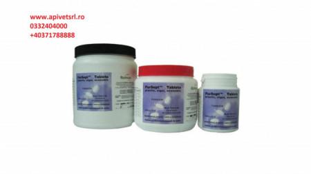 Pursept Flacon cu 300 comprimate pt decontaminarea fantanilor/suprafetelor alimentare