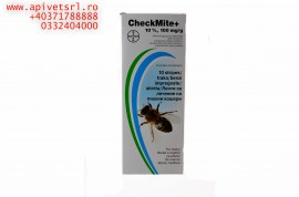 CheckMite- benzi antivaroa cu perioada de asteptare 0 zile, eficacitate 42 zile
