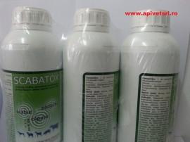 Scabatox flacon de 1 litru - amitraz de 12.5%- only we can deliver by air
