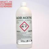 Acid Acetic 80% alimentar sau Glacial 19.8 RON litru ambalaj de 5 Kg