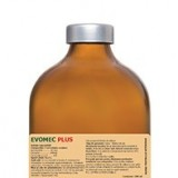 Evomec Plus flacon de 500 ml=bottle of 0.5 kg pt deparazitare injectabila