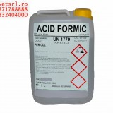 Acid Formic 1 litru 22 RON- Pachet de 5 sticle de 1 litru