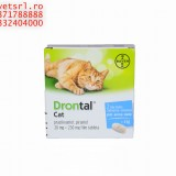 Drontal- Cat, Drontal Puppy sau Drontal dog Flavor pt deparazitare