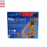Nextgard Spectra Comprimat masticabil pt protectie caini contra capuselor si dirofilariei