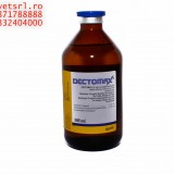 Dectomax bottle of 500 ml enough to treat 25 000 kg body weight of cattle or ships