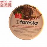 Foresto zgarda pt cainii peste 8 kg, cu efect peste 7 luni de zile