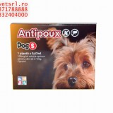 Antipoux DOG S- pt catei 2-10 kg BAX de 20 pipete, cu livrare oriunde in Romania sau UE