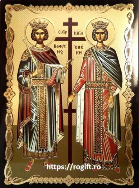 Icoana Sfinții Împărați Constantin și Elena