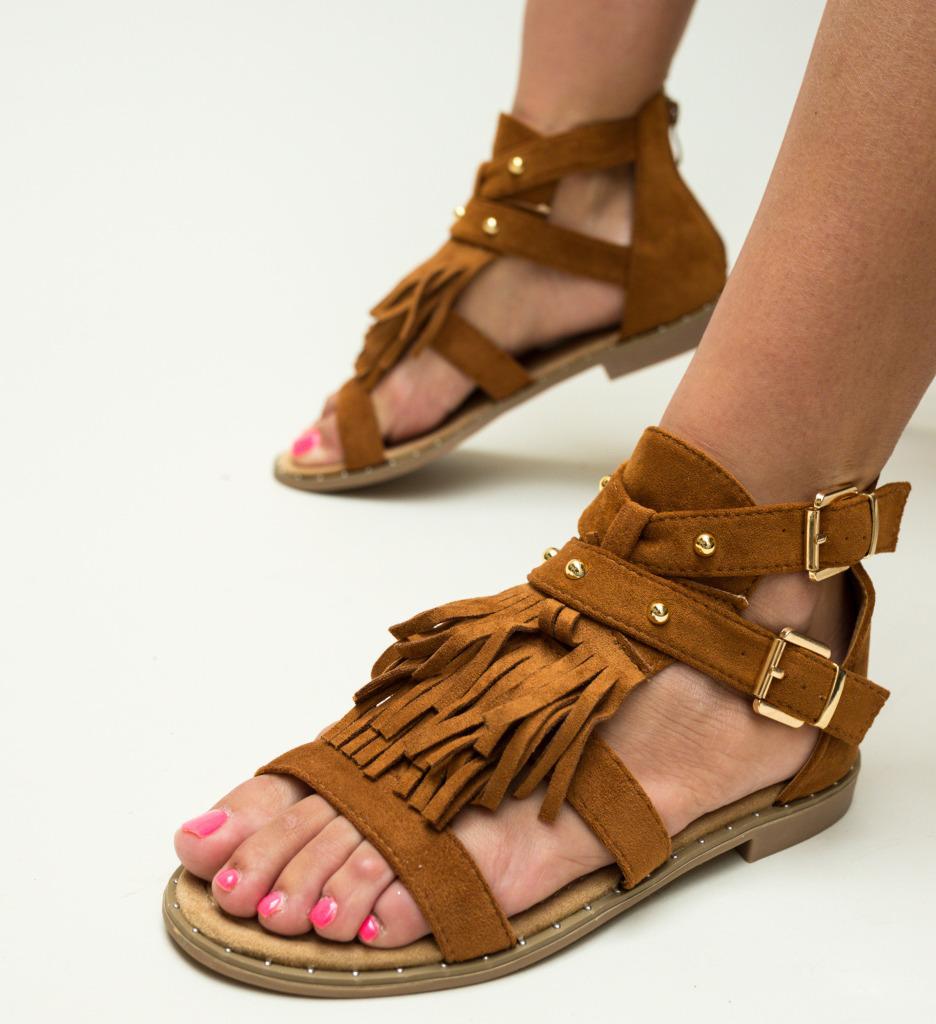 Sandale Temas Camel