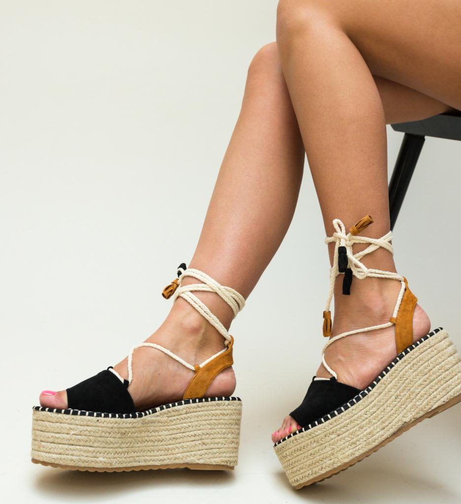 Sandale Sultan Negre