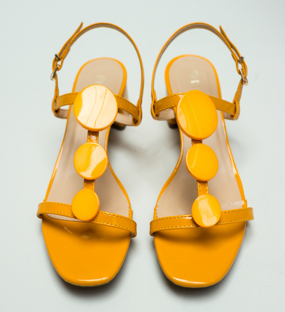 Sandale Aqua Galbene