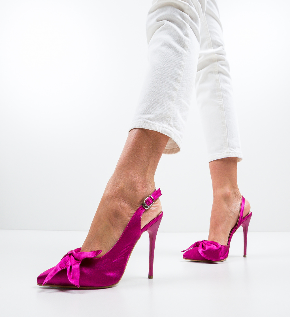 Pantofi Andras Fuchsia
