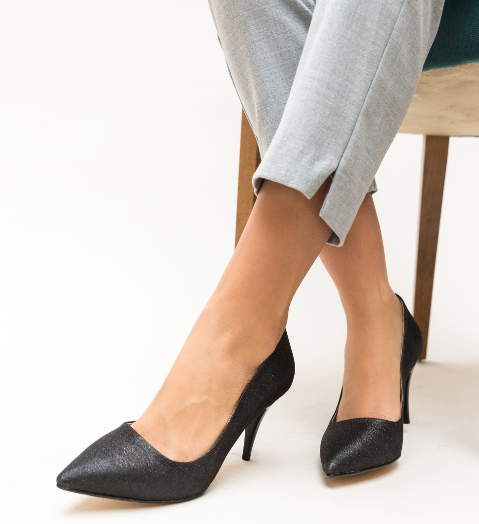 Pantofi Buhas Negri 3