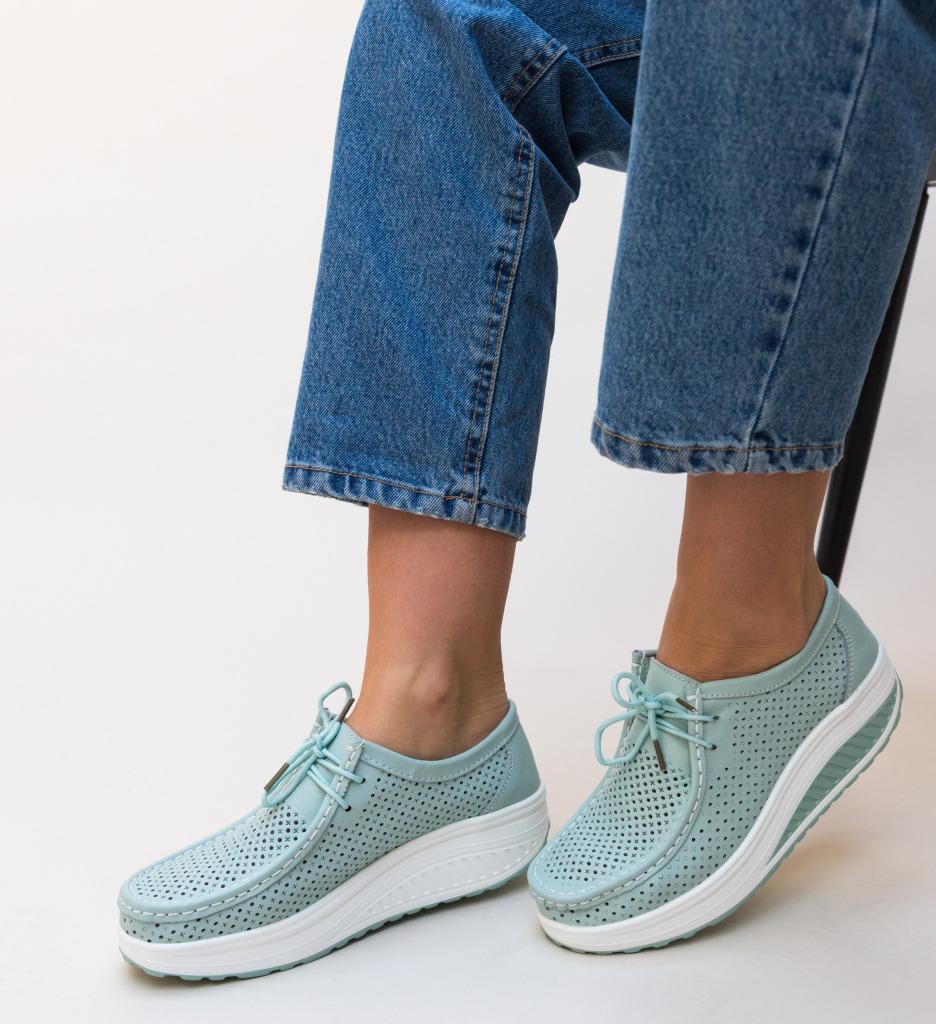 Pantofi Casual Baroco Albastri
