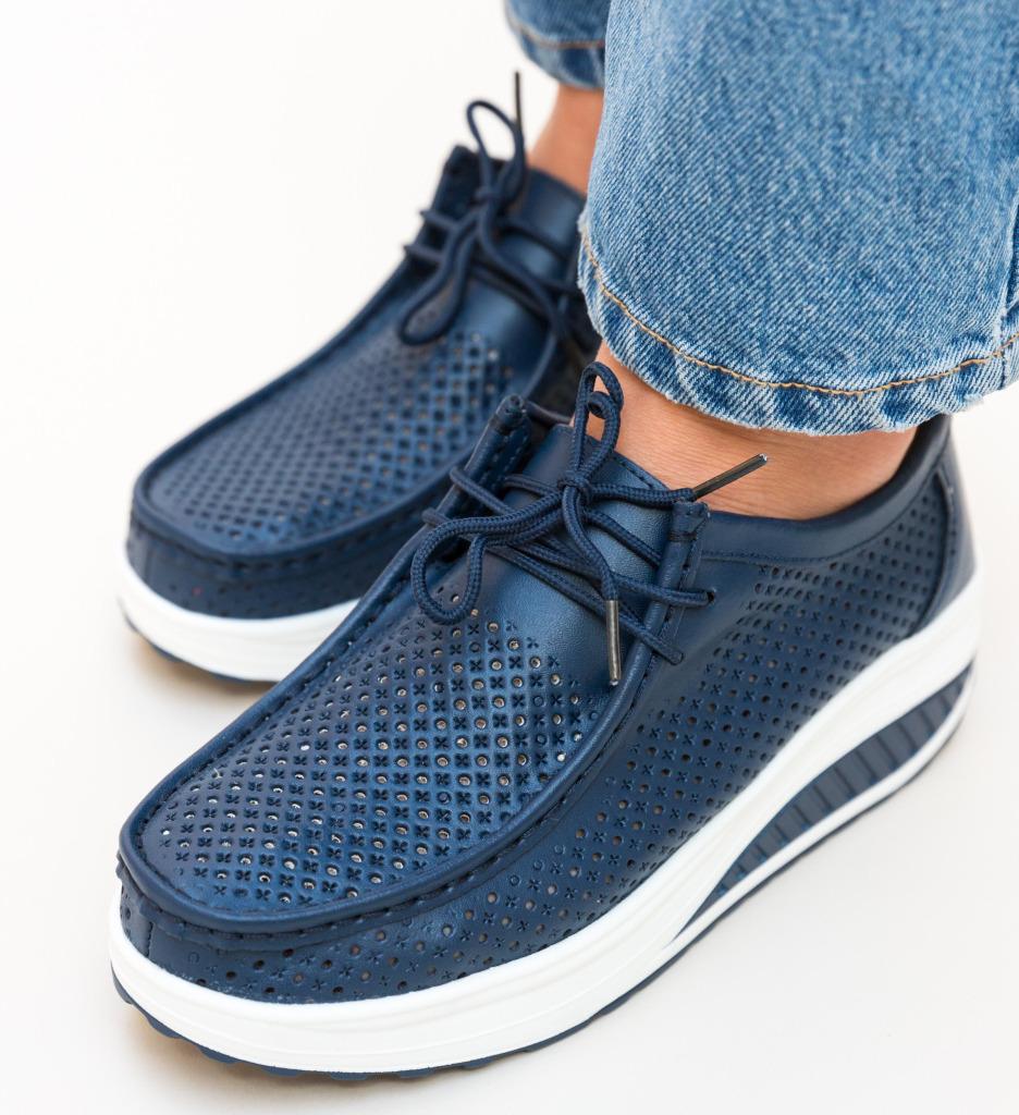 Pantofi Casual Baroco Bleumarin