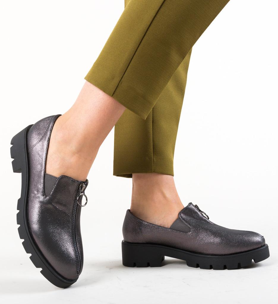 Pantofi Casual Bryant Gri imagine
