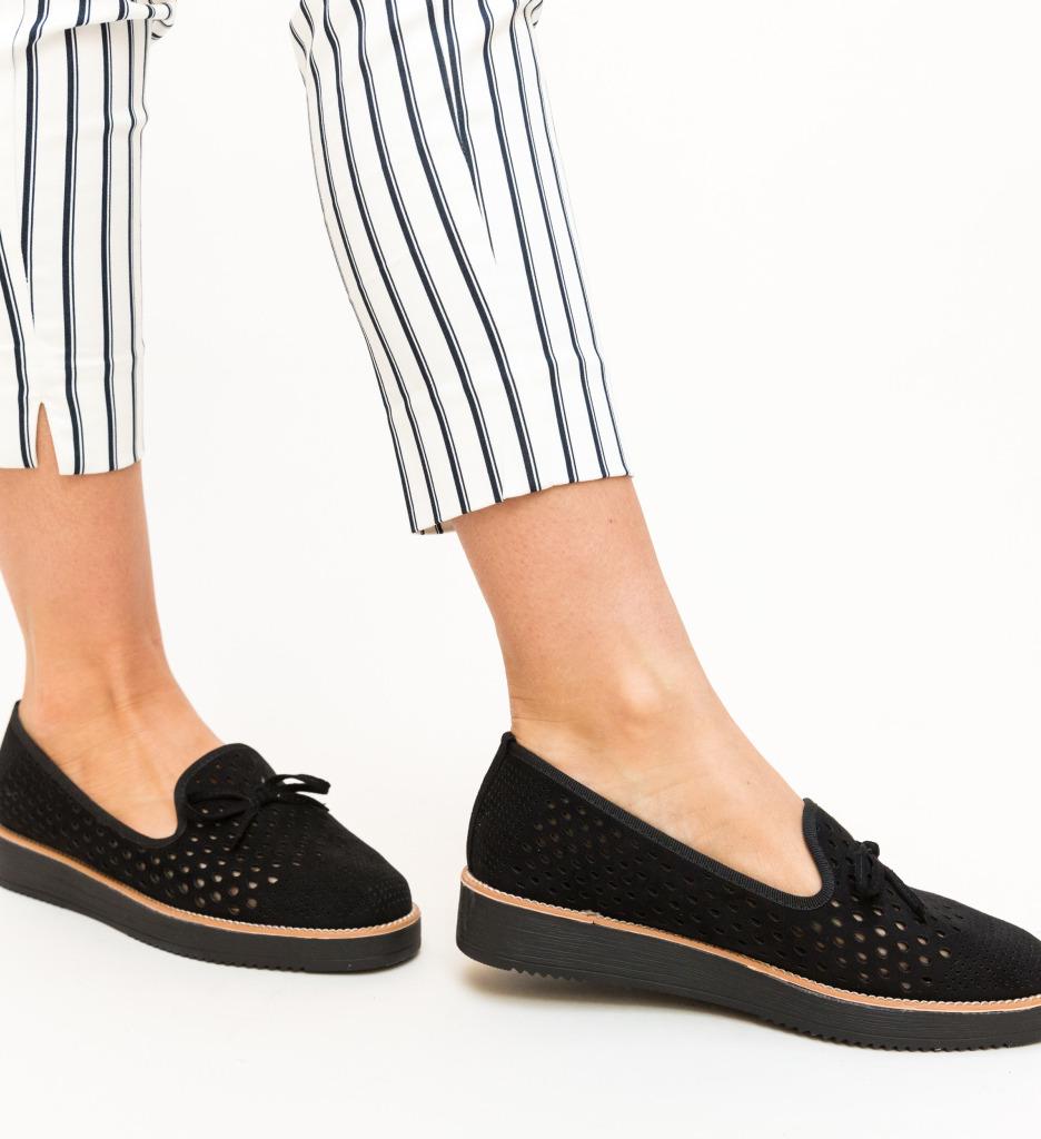 Pantofi Casual Clasim Negri