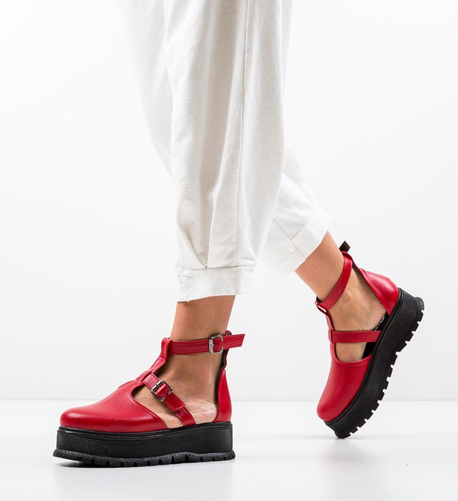 Pantofi Casual Clonata Rosii