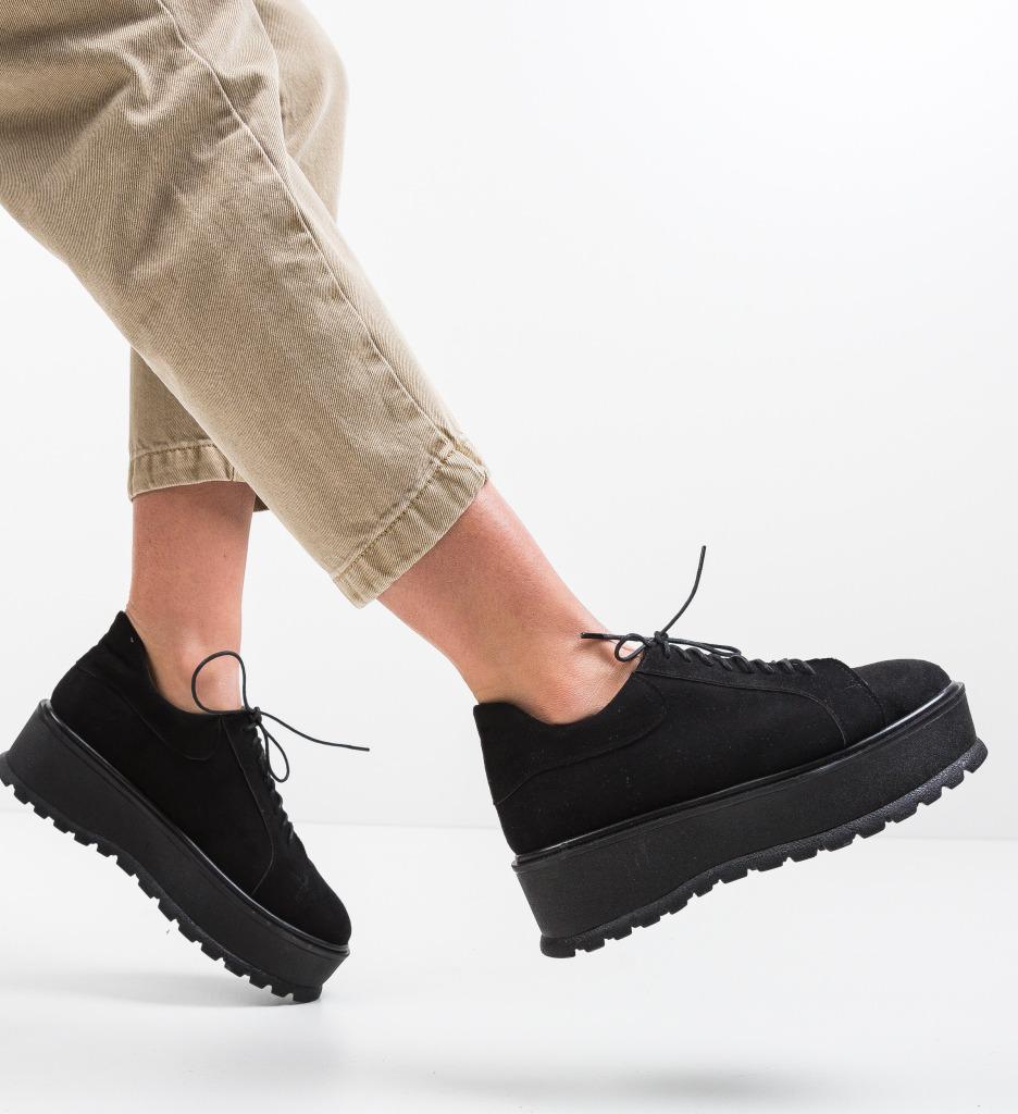 Pantofi Casual Dutano Negri 2