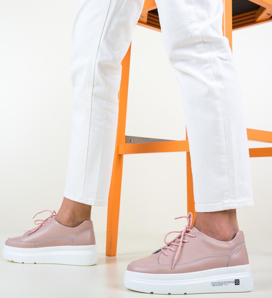 Pantofi Casual Figuer Roz