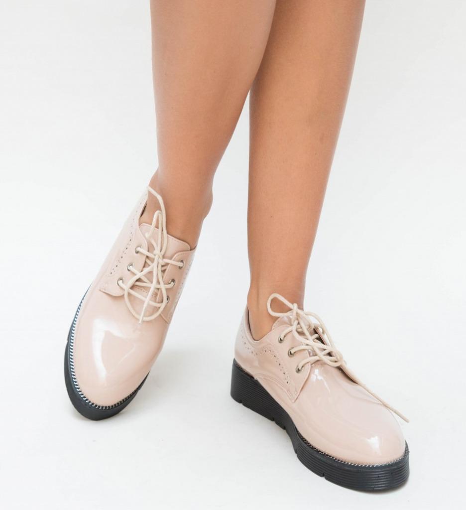 Pantofi Casual Guter Nude