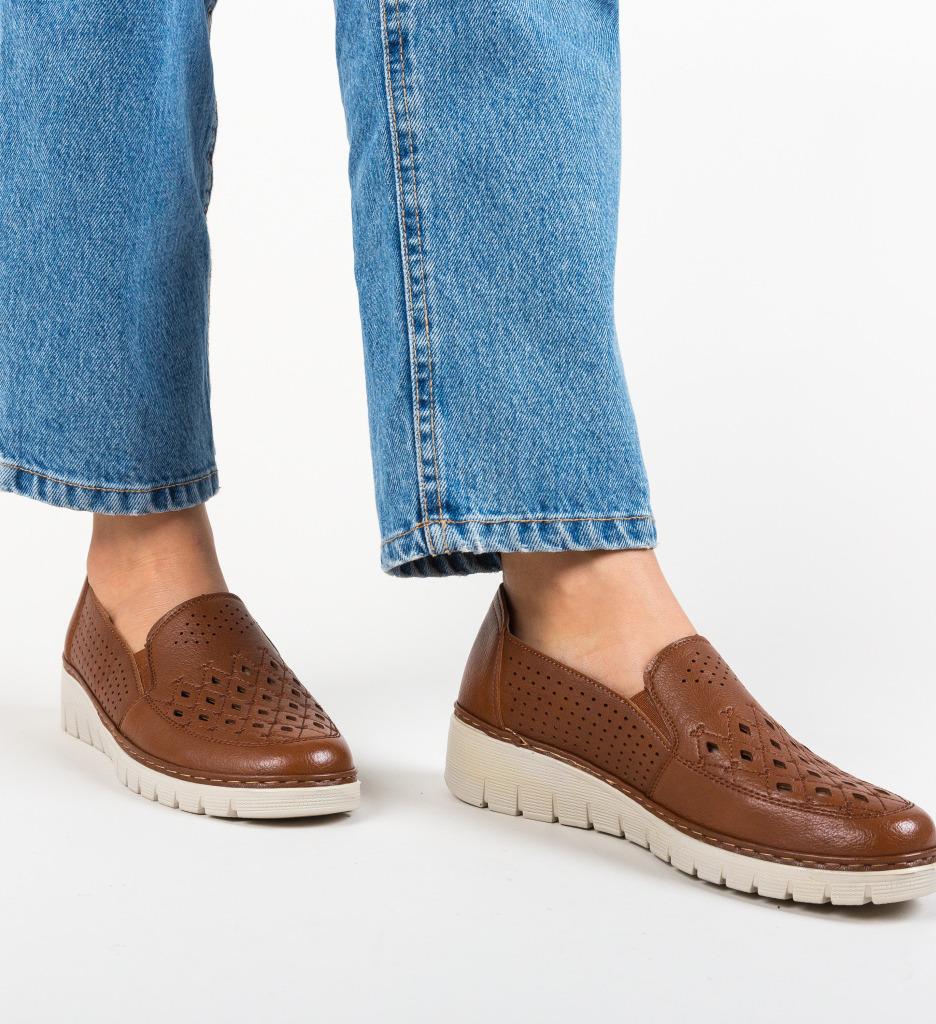Pantofi Casual Lerini Maro