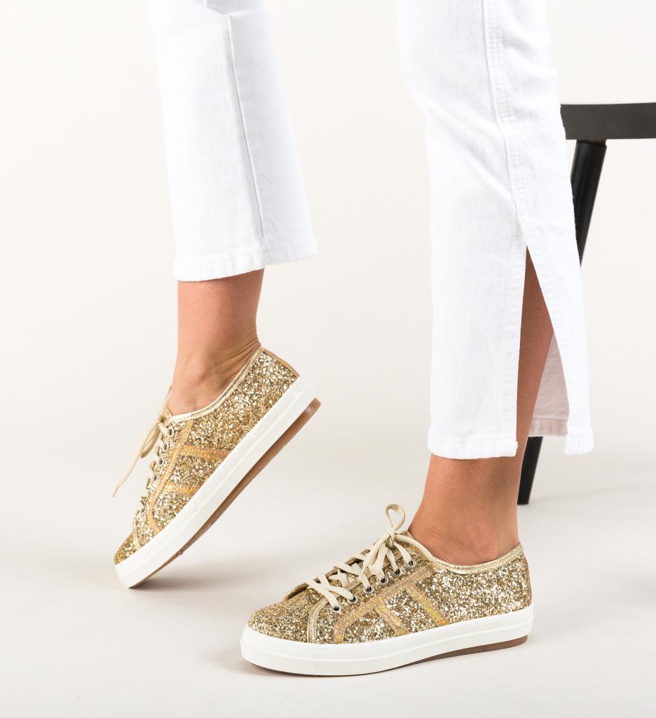 Pantofi Casual Lukin Aurii