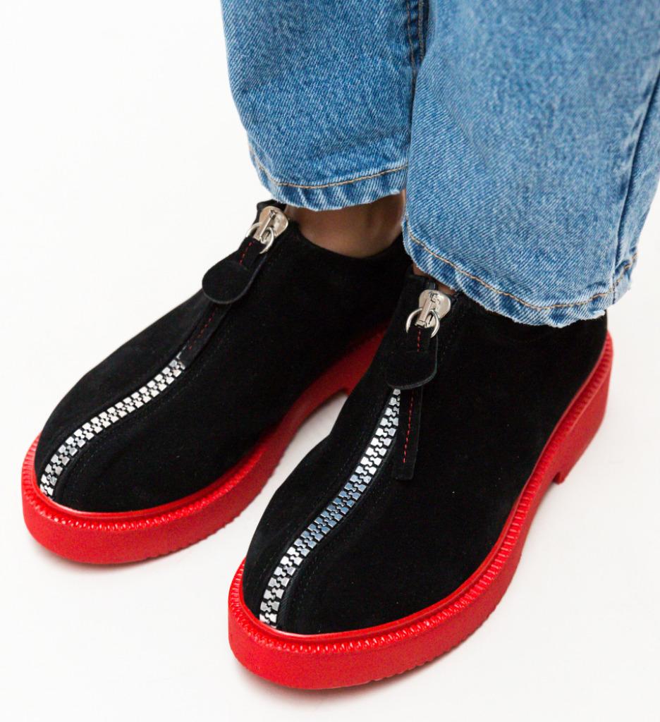 Pantofi Casual Lukoni Rosii